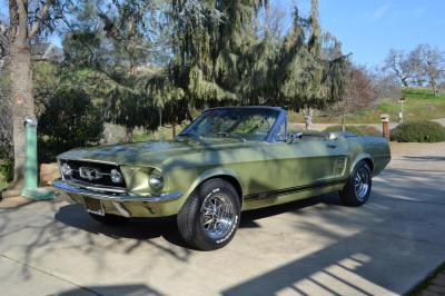 lee glenda h 1967 ford mustang gt convertible c7df s 102 2100 california